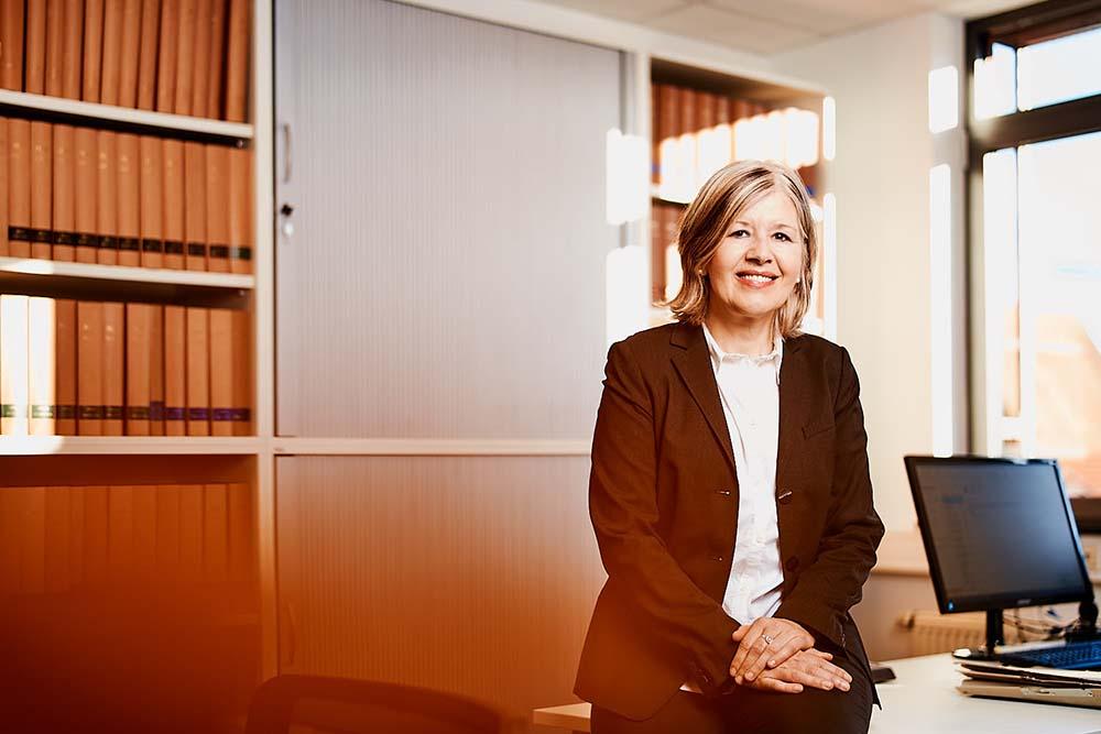 Erbe &Hopt Anwaltskanzlei Portrait Anwältin Marianne Hausherr