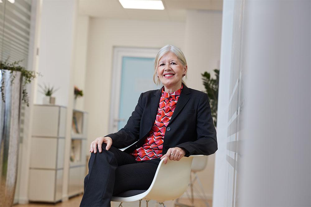 Erbe &Hopt Anwaltskanzlei Balingen Portrait Anwältin Marianne Hausherr