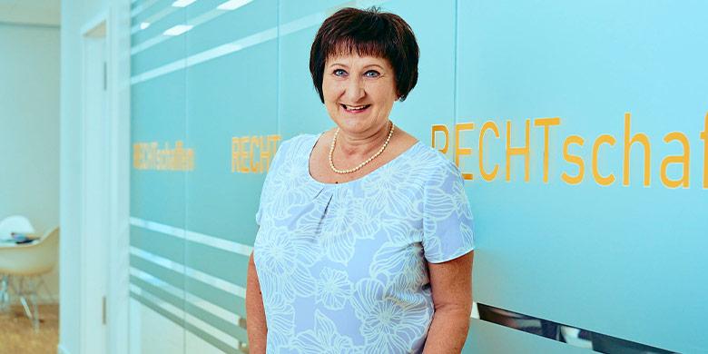 Erbe & Hopt Anwaltskanzlei Balingen: Mitarbeiterin Susanne Reckling