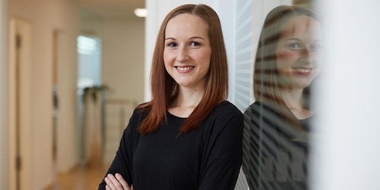 Erbe & Hopt Anwaltskanzlei Balingen: Auszubildende Teresa Hank